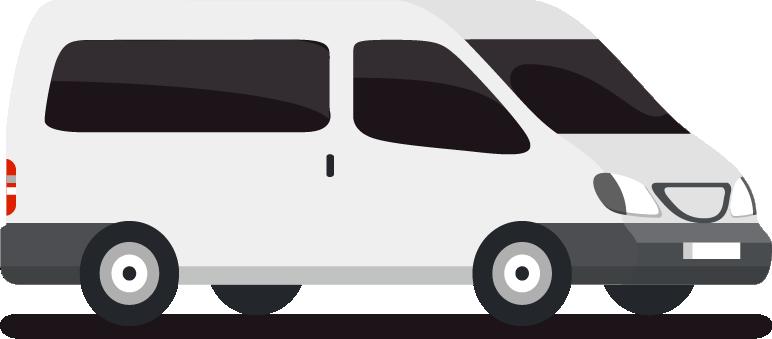 商務大車白色