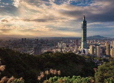 台北城市景觀:101大樓