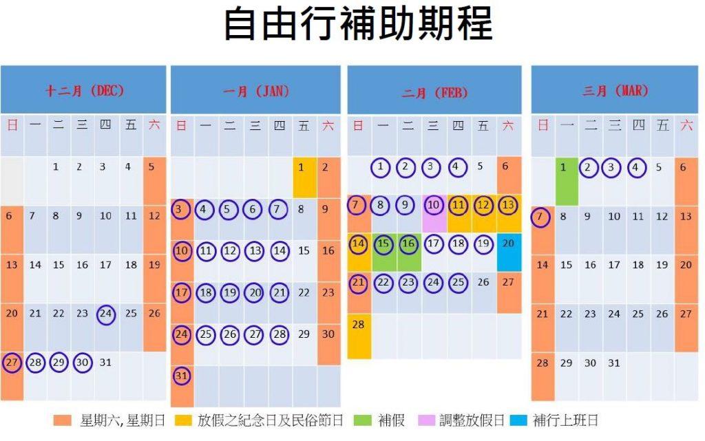 台北加碼GO旅遊補助