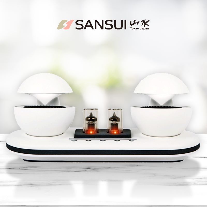 SANSUI 360° 全音域真空管藍芽音響 贈立體聲耳機 SS-36